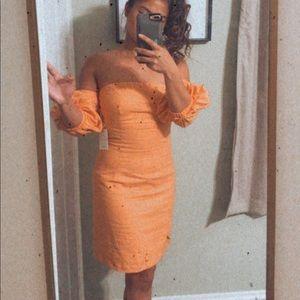 Forever 21 off the shoulder dress